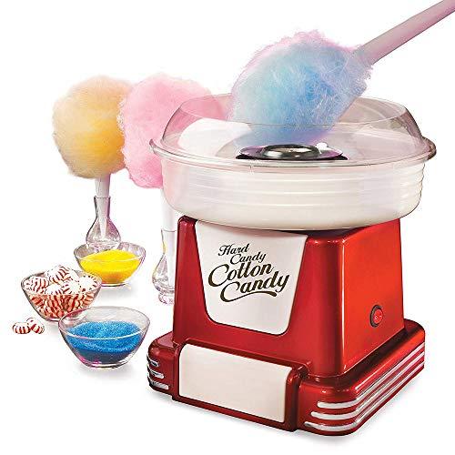 NOBGP Retro Hard Sugar Free Cotton Candy Maker Hace Hard Candy, Sugar Free Candy, Sugar Floss, Dulces caseros para niños o Adultos Fiestas de cumpleaños