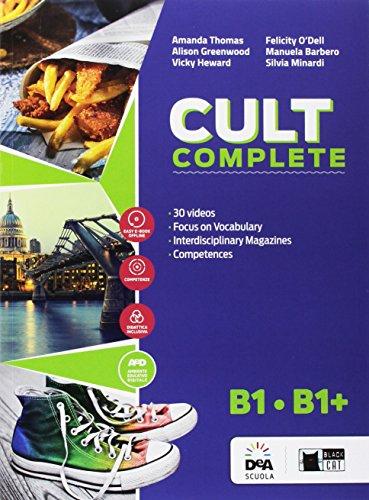 Cult complete. B1-B1+. Student's book-Workbook-Entry book-Preliminary. Per le Scuole superiori. Con e-book. Con espansione online. Con DVD-ROM [Lingua inglese]