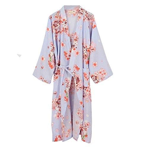 Fancy Pumpkin Donna Kimono Yukata accappatoio Pigiama Grande MultiColore
