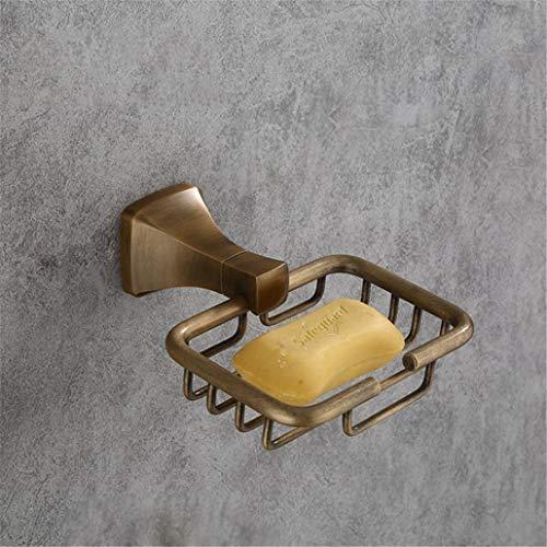 CBXSF Europäische Antike Bad Seifenschale Seife Netto-Seifenhalter Bad Hardware-Zubehör-Seifenschale