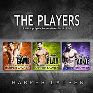 The Players: A Wild Boys Sports Romance Boxed Set Book 1-3 cover art