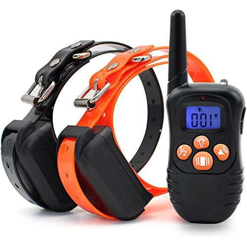 Zigzagmars Humane Safety No Shock Dog Training Collar with Remote, 1000FT Range Rechargeable...