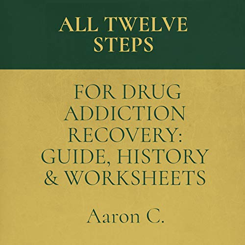 All Twelve Steps for Drug Addiction Recovery: Guide, History & Worksheets audiobook cover art