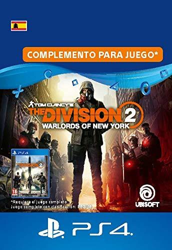 The Division 2: Señores de la guerra de Nueva York - Expansión Warlards of NY | Código de descarga PS4 - Cuenta española