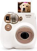 Fujifilm Instax Mini 7C Instant Film Camera for Ideal Gift Set - Light Brown Milky