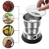 Huanyu 550w Getreidemühlen Elektrische Getreidemühle Multi-Zerkleinerer für Kaffeebohnen Gewürz Pfeffer Kräuter Nüsse Medizin (350w 400g) - 4