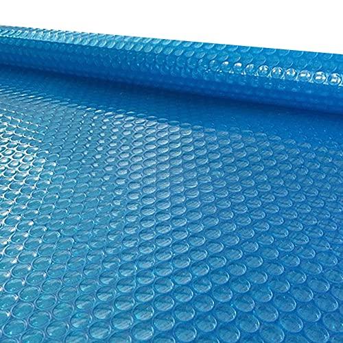 HWF Cobertor Cubierta Fundas para Piscinas, Manta Solar para Jacuzzi/Piscina, Rectángulo Cubiertas solares para Piscinas para Piscinas enterradas/Piscina sobre el Suelo, 1m / 2m / 3m / 4m / 5m / 6m /