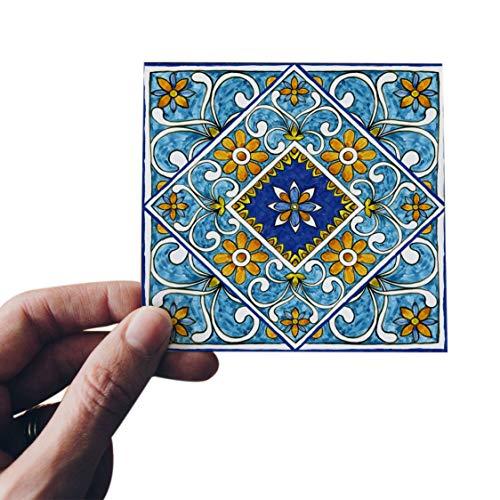 WANWE 20 unids/lote 3D Europa estilo azulejo pared etiqueta de la cocina baño baño azulejos cintura línea arte mural piso diagonal pegatinas