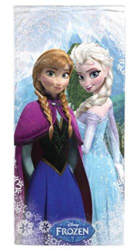 Disney Frozen 'Snowflake' 100% Cotton Beach Towel