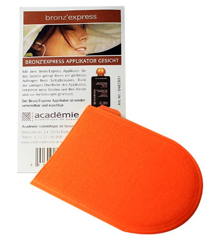 Academie Bronz´Express Applikator-Handschuh fürs Gesicht, ca. 8cm