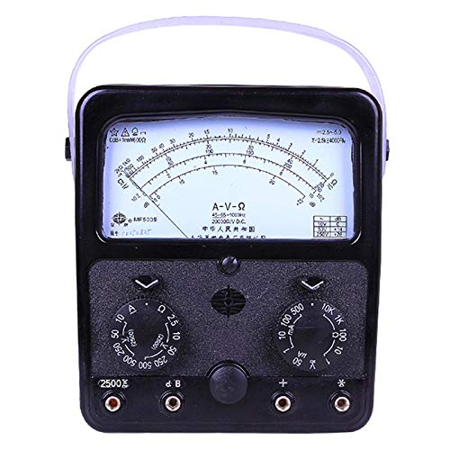 ELECTRONIC-MEI MF500 analógico multímetro voltios amperios