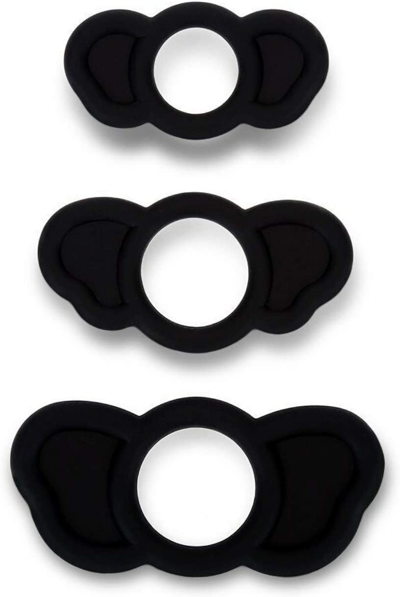 Badea 3 Pcs Easy Grip Silicone online shopping Male Limited time sale 19085 Rings Fantasy Night