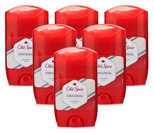 6 X Old Spice Original Déodorant en stick pour homme Deo 50 ml