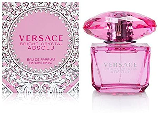 Versace Bright Crystal Absolu Eau De Perfume Spray 3 0 Ounce