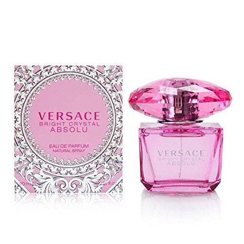 versace bright crystal absolu eau de perfume spray 3.0 ounce