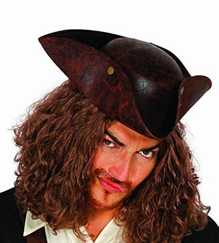 Sombrero para capitán pirata, unisex.
