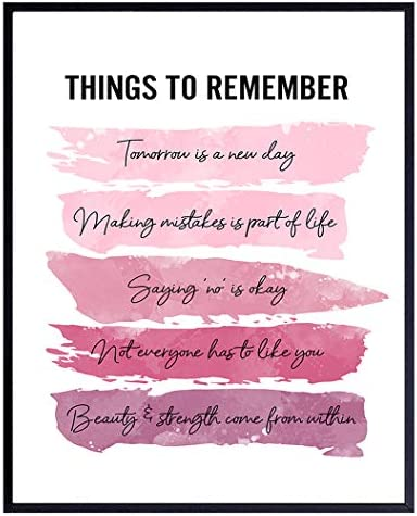 Positive Inspirational Quotes Wall Decor Uplifting Encouragement Gifts for Women Girls Teens product image