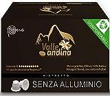 Valle Andina - Capsule Compatibili Nespresso - 50 Capsule 100% COMPOSTABILI - Caffè Origine Perù