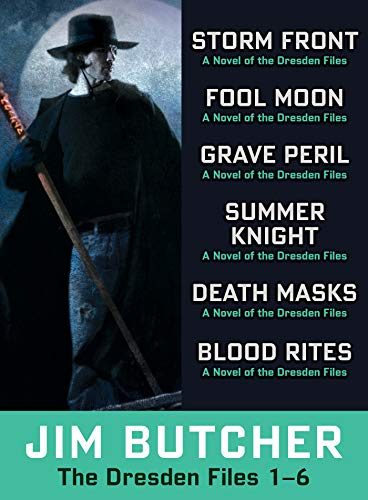 The Dresden Files Collection 1-6 (The Dresden Files Box-Set Book 1) (English Edition)