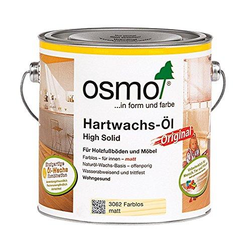 Osmo olio-hartwachs Rapid 3062Neutral 2,5L Reichweite: mit 1Hand ca. 24m²/L