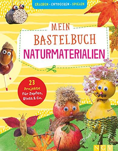Mein Bastelbuch Naturmaterialien: 23 Projekte für Zapfen, Blatt & Co.