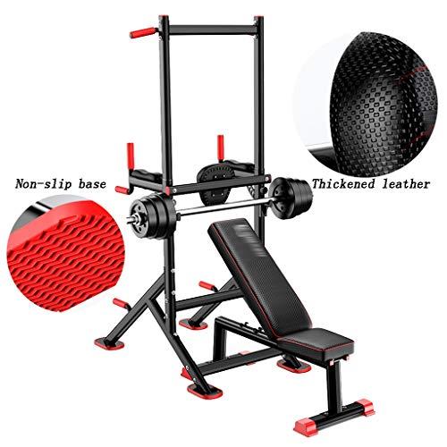 Barres de Traction Barres parallèles Simples, tractions Multifonctions, entraîneurs, équipement de Sport intérieur et de Fitness à Domicile (Color : Black, Size : 180 * 85*(160~226) cm)