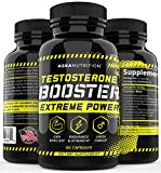 Testosterone Booster for Men - Testboost with Horny Goat Weed & Tongkat Ali - Muscle Builder - Test Boost Male Enhancing Pills Erection Growth - Male Enlargement Test Booster - Energy, Libido Booster