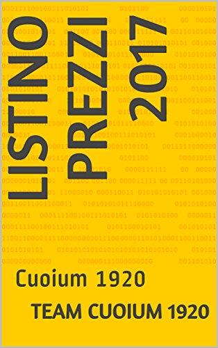 Listino Prezzi 2017: Cuoium 1920