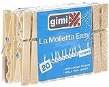 GIMI Easy La Molletta, Avorio, 2x1.5x9 cm, 20 unità