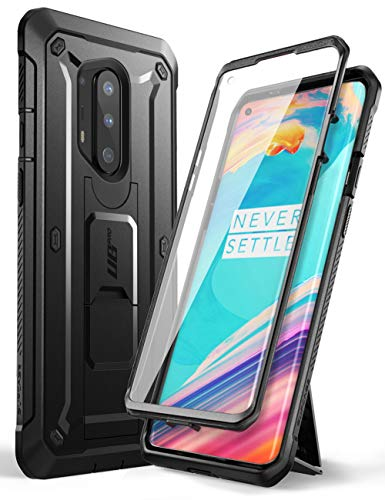 SUPCASE Unicorn Beetle Pro Series Case Designed for OnePlus 8 Pro, Built-in Screen Protector Full-Body Rugged Holster Case for OnePlus 8 Pro (Black)