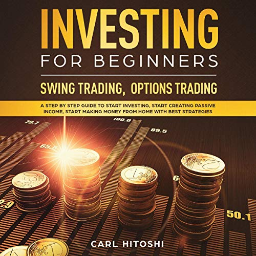Investing for Beginners, Swing Trading, Options Trading audiobook cover art