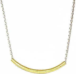 CV Designs By Christine Howell Vermeil Gold Bar Pendant Necklace, 16