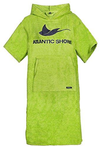 Atlantic Shore | Surf Poncho ➤ Bademantel/Umziehhilfe aus hochwertiger Baumwolle ➤ Green - Middle