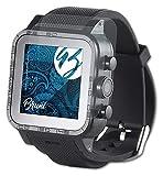 Bruni Schutzfolie kompatibel mit Simvalley-Mobile AW-420.RX/AW-421.RX Folie, glasklare Bildschirmschutzfolie (2X)