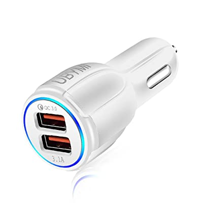 Fast Car Charger,UBYMI 30W Car Charger Adapter ...