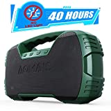 Portable Waterproof Bluetooth Speaker, AOMAIS 40-Hour Playtime...