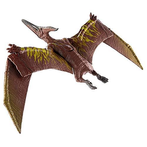 LRHD Jurassic World World Sound Strike Pteranodon Figura con huelga y acción de choza de acción Sonidos realistas Movables Las articulaciones hacen que los sonidos modelen sonidos de simulación para n
