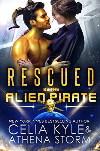 Rescued by the Alien Pirate Science Fiction Alien Romance Mates of the Kilgari Book 1 product image