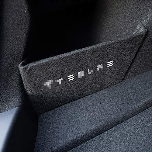 Bafle de maletero, caja trasera de coche, bafle de almacenamiento, piezas de partición de maletero, accesorios de coche, partición lateral del compartimento de equipaje para Tesla Model 3