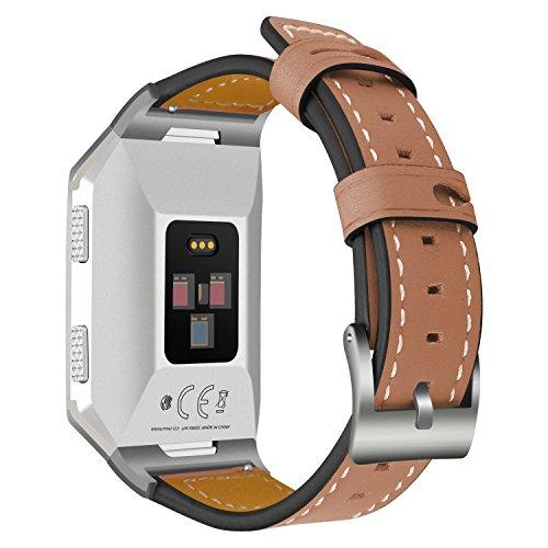Correa de cuero para Fitbit Ionic