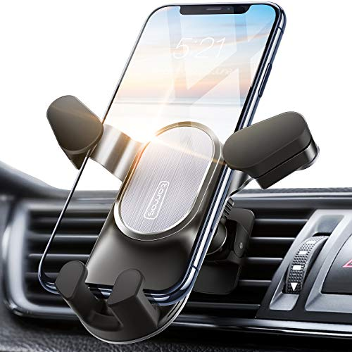 TORRAS Car Phone Mount, [2020 Auto-Clamping] Air Vent Cell Phone Holder for Car Hands-Free Cradle Compatible for iPhone SE/ 11 Pro Max/Xs/XR / 8 Plus, Samsung Galaxy S20 S10 S9 & All Smartphones