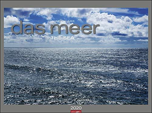 Das Meer. Wandkalender 2020. Monatskalendarium. Spiralbindung. Format 78 x 58 cm