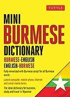 Tuttle Mini Burmese Dictionary: Burmese-English / English-Burmese (Tuttle Mini Dictiona)
