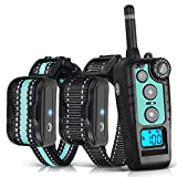 TOKEGO Dog Training Collar 2 Dogs, 1500FT Remote Rechargable & Waterproof Electric Shock Collar with Beep, Vibration and Shock for Small,Medium and Large Dogs (10lbs-120lbs)