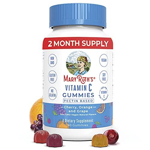 Vegan Vitamin C Gummies by MaryRuth's   2 Month...