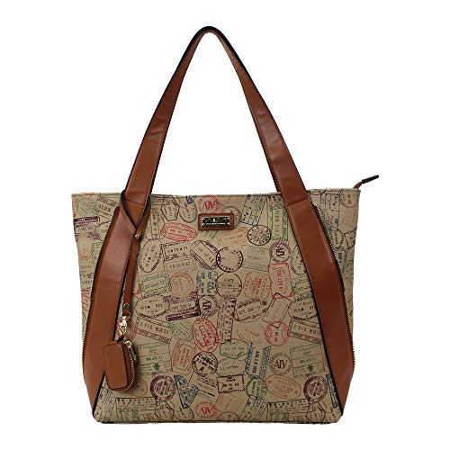 ALVIERO MARTINI ALV Borsa shopping - shopping bag by donna Safari- 37X35X14