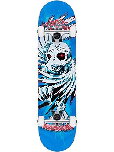 Skateboard Set Completo Birdhouse Hawk Spiral - 7.75 Inch Blu (Default , Blu)