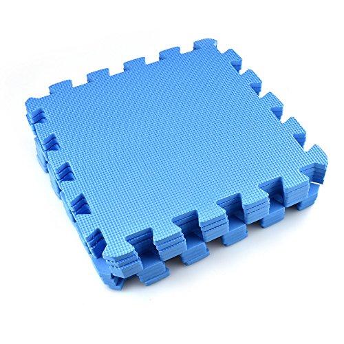 Bargains-Galore - Tappetino a incastro in EVA, ideale come rivestimento per palestre/officine/ufficio e come tappeto da gioco