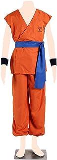 Dream2Reality Dragon Ball Cosplay Costume Son Goku Ver.4 Training Jersey XXX-Large