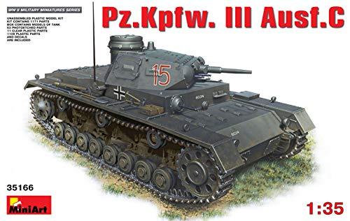ミニアート 1/35 III号戦車C型 プラモデル